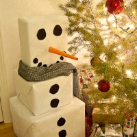 Box Snowman Advent Calendar