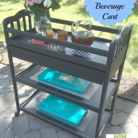 Baby Changing Table to Beverage Cart