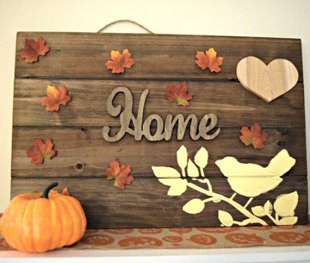 Diy Thanksgiving Wooden Sign