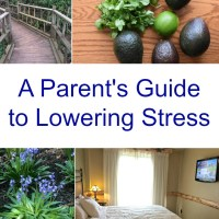 Parents: Easy Ways to Relieve Stress & Improve Your Health