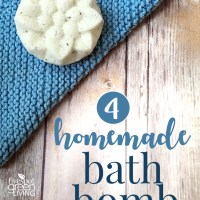 Homemade Bath Bombs & The Creative Corner Link Up Party