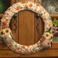 Fall Owl & Pumpkin Wreath {12 Months of Wreaths}