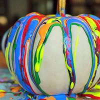 Paint Drip Pumpkins and The Creative Corner Link Up Party
