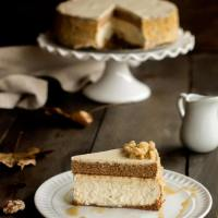 Layered Maple Cheesecake & Creative Corner Link Up Party
