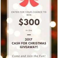 Cash for Christmas Giveaway