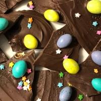 Easter Egg Chocolate Bark