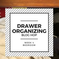 Organized Sock Drawer -- Drawer Organization Blog Hop