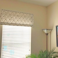 Hanging Window Valences - April Pinterest Challenge