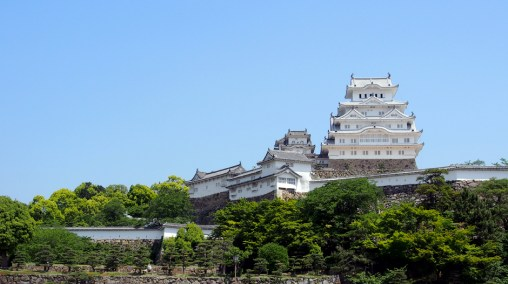 The main keep of Himeji