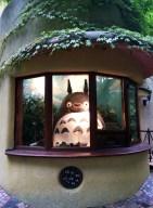 The famous Totoro ticket window