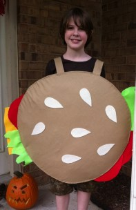 Handmade Hamburger Costume