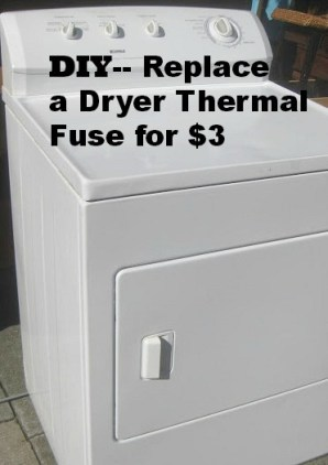 Dryer Repair for $3