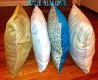Upcycled Pillow Covers