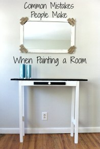 Common Mistakes People Make When Painting a Room