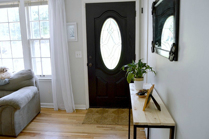 small entryway