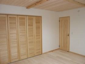 各お部屋には大容量の収納スペース