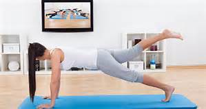 10 Benefits of Working Out From Home graphic