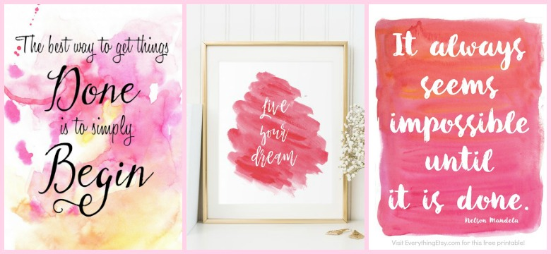 39 Free Printables You'll Actually Want To Hang On Your Wall graphic