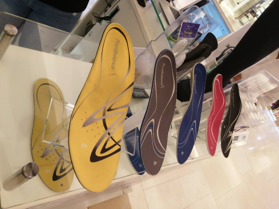 Customized insoles for Foot Arch
