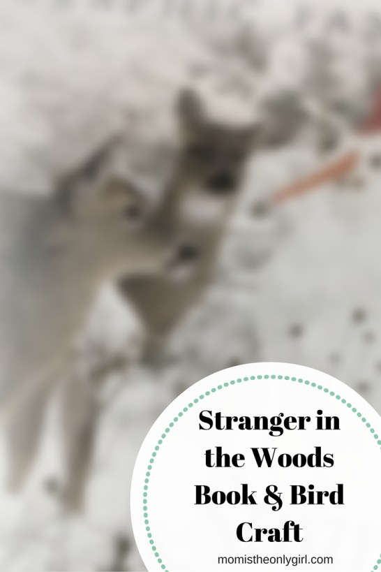Stranger in the Woods Cardinal craft http://momistheonlygirl.com