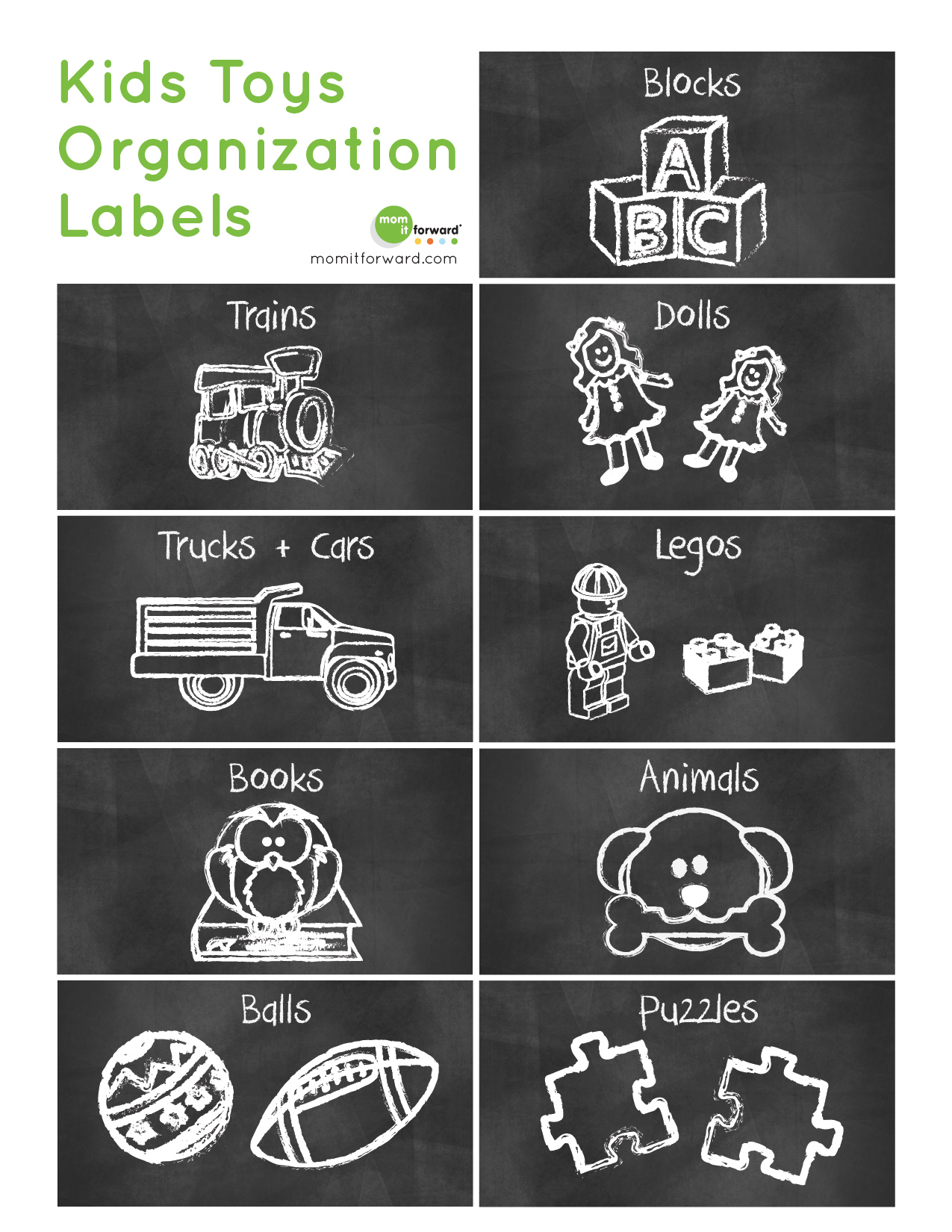 Home Management Organize With Free Printable Labels