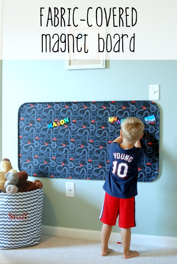 Fabric Covered Magnet Board Endlessly Inspired