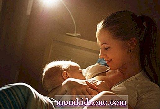 كيفية الرضاعة في الليل طفل2019