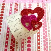 Valentine's Day DIY: Love Letter Napkin Ring Holder