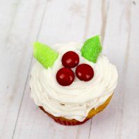 Holiday Baking- Mistletoe Cupcakes Recipe