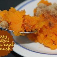Super Easy Baked Butternut Squash Recipe