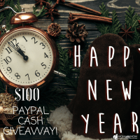 7 New Year Money Saving Tips and $100 PayPal Cash Giveaway!