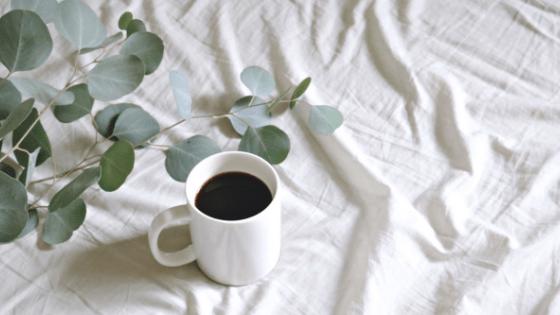 kitchen basics - white coffee mugs