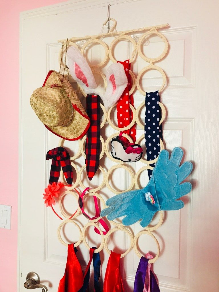 IKEA Kids Storage Playroom Hacks Dress up Station