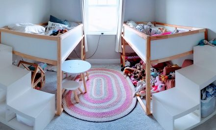 IKEA Girls Bedroom Hack