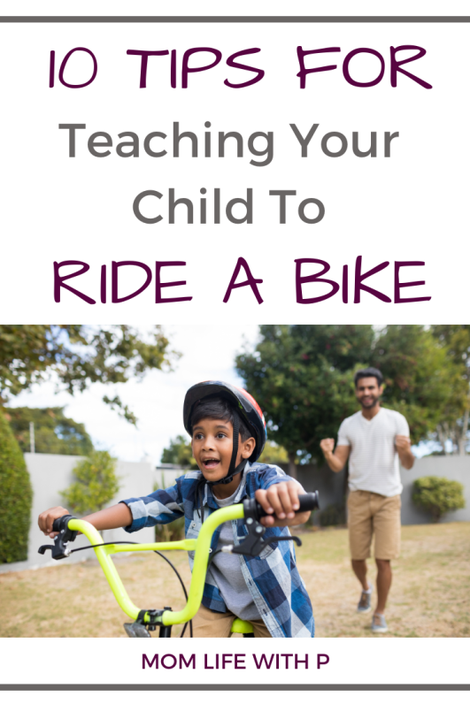 10 tips for teaching your child to ride a bike