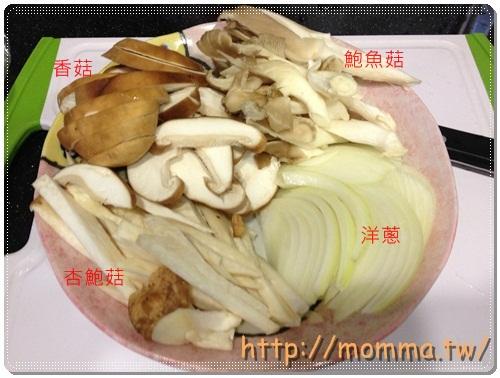 [P家廚房]金黃玉米筍+洋蔥炒百菇+鯛魚薑湯 9