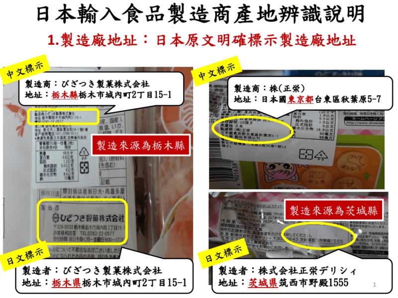 日本核災食品早就輸台?! 網路流傳代碼K是指福島產地