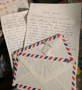 Letters from my grandmother to me. Now they will be treasured forever.
