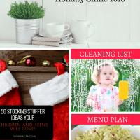 Menu Plan, Stocking Stuffers, and Holiday Shine