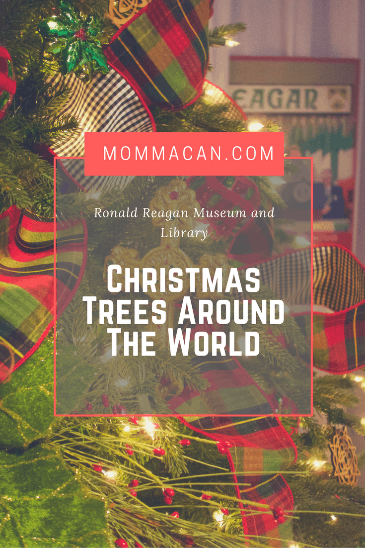Christmas Trees Around The World Reagan Library And Museum