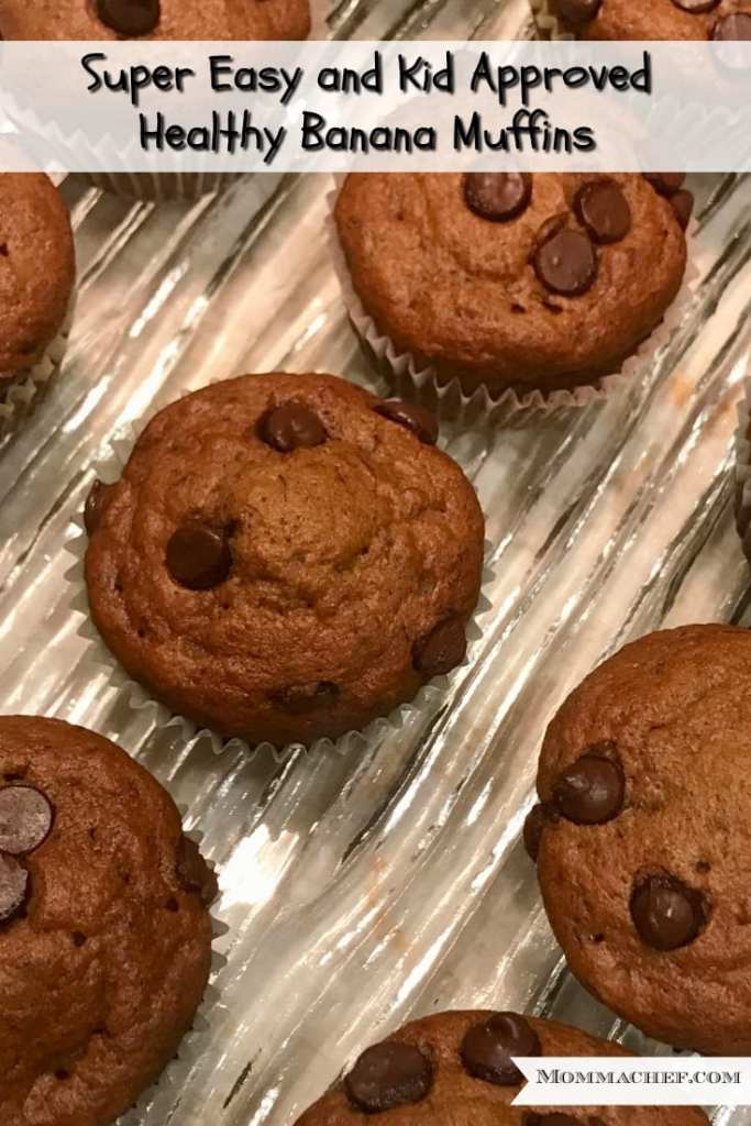 super easy kid approved yummy banana muffin recipe
