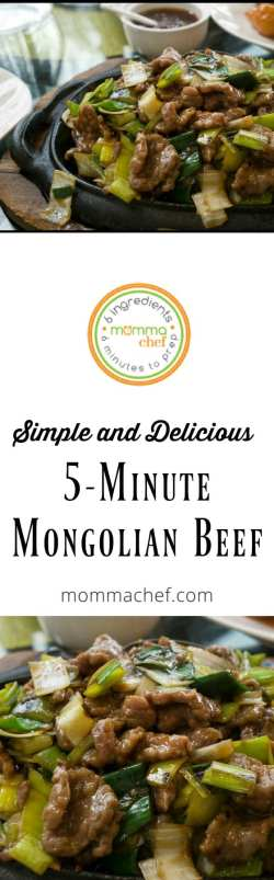 Quick and Easy Mongolian Beef