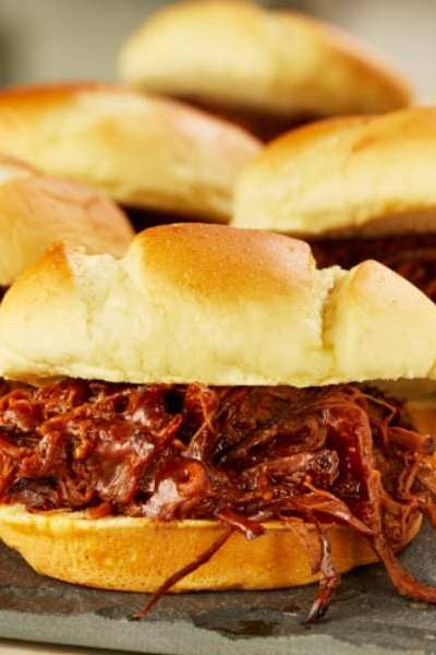 Oh-So-Good Smoked BBQ Brisket Sliders