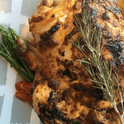 Simple and Delicious Roasted Rosemary Chicken