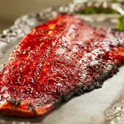 Fabulous 3 Ingredient BBQ Salmon
