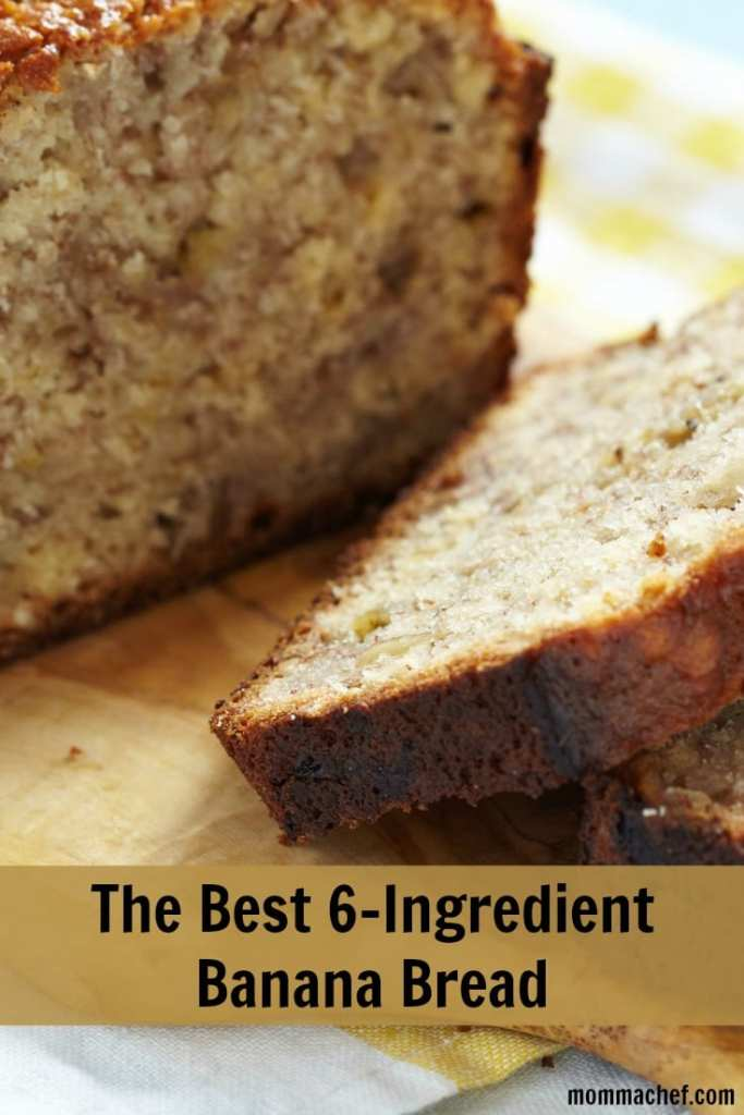 The Best Easy Kid-Approved 6-Ingredient Banana Bread Recipe