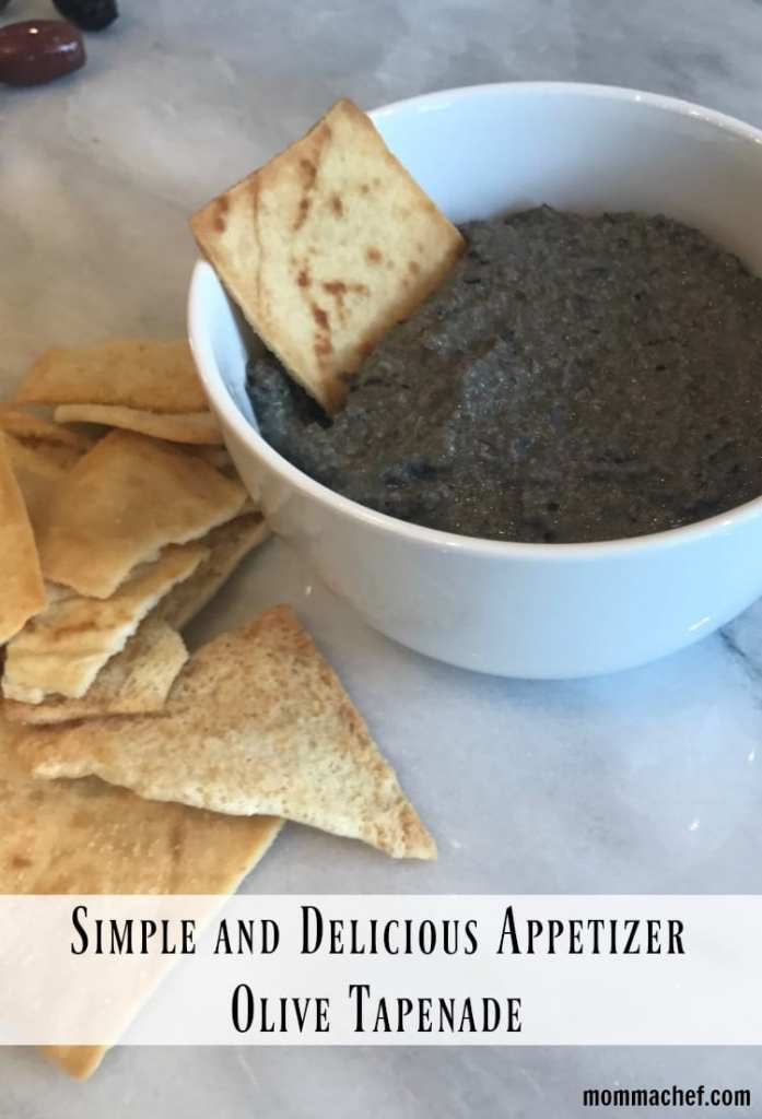 Impress With This Easy and Delicious Appetizer: Olive Tapenade Recipe