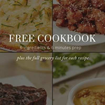Sign Up Here for a FREE Momma Chef Cookbook and Weekly Recipes