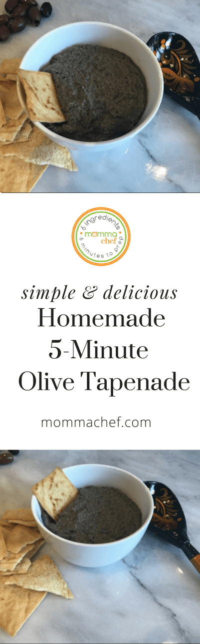 Quick and Easy Olive Tapenade