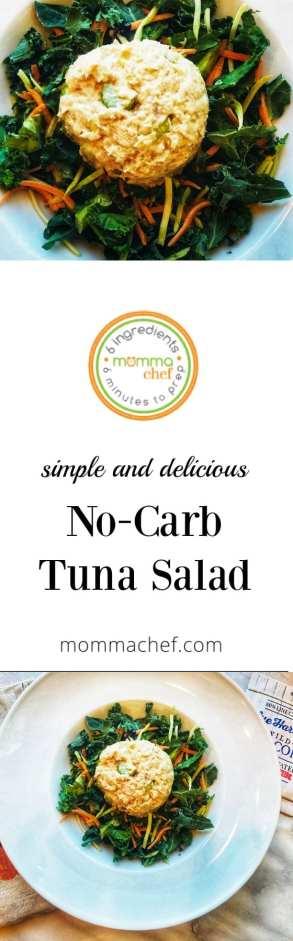 Delicious No Carb Tuna Salad